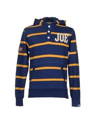 Joe Rivetto Topwear Sweatshirts Men Blue