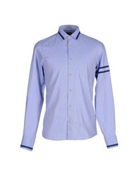 Lab. Pal Zileri Shirts Shirts Men Blue