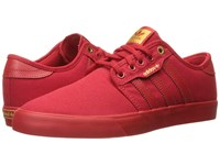 Adidas Seeley Scarlet Scarlet Scarlet Men's Skate Shoes Red