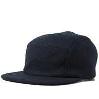 Filson Five Panel Wool Cap Navy