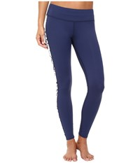 Carve Designs Reef Tights Anchor 1 Women's Casual Pants Blue
