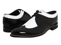 Stacy Adams Dayton Wingtip Black W White Men's Shoes