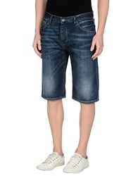 Ben Sherman Denim Denim Bermudas Men Blue