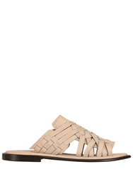 Chubasco Hand Woven Nubuck Leather Sandals Taupe