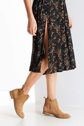 Urban Outfitters Poppy Chelsea Boot Taupe