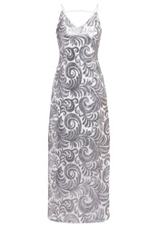Dorothy Perkins Occasion Wear Metallic Silver