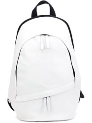 Maison Martin Margiela Stitch Detail Backpack White