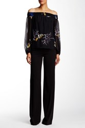 Versace Flare Pant Black