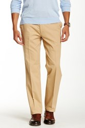 Louis Raphael Twill Limited Modern Fit Outlast Pant Beige