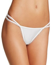 For Love And Lemons Yvette Strappy Thong Skpa1149rl Ivory
