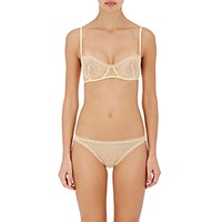 Eres Women's Popeline Enchantee Underwire Bra Yellow