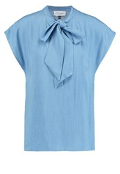 Closet Blouse Pale Blue Light Blue