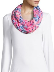 Lilly Pulitzer Printed Cotton Infinity Scarf Multicolor