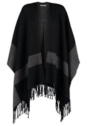 Anna Field Cape Dark Grey
