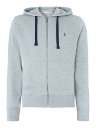 Original Penguin Zipped Hoody Grey
