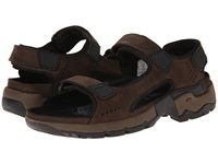 Allrounder By Mephisto Adiago Espresso Oiled Nubuck Men's Sandals Brown