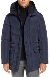 Mackage Men's 'Artem' Hooded Down Jacket Ink