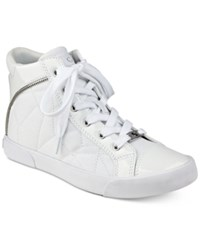 G By Guess Chief High Top Sneakers Women's Shoes White