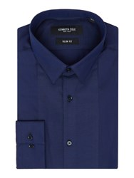 Kenneth Cole Payton Slim Fit Evening Shirt Navy