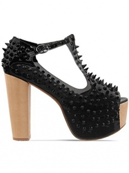 Shoes Jeffrey Campbell Foxier Charcoal Black