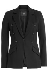 Steffen Schraut Blazer With Embossed Buttons Black