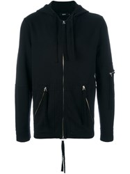 Blood Brother 'Utility' Zipped Hoodie Black