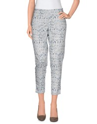 Ermanno Ermanno Scervino Trousers Casual Trousers Women Light Grey