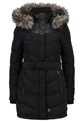 Khujo Lubeck Winter Coat Black Polyester