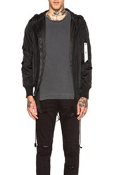 Stampd Double Layer Bomber In Black