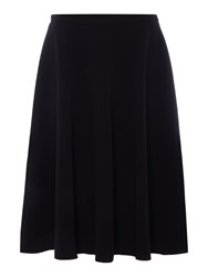 Max Mara Visir Midi Circle Skirt Black