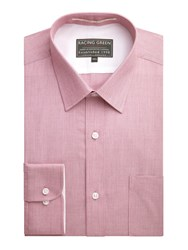 Racing Green Jenson End On End Formal Shirt Red