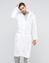 Calvin Klein Dressing Gown White