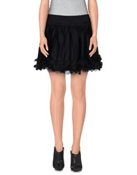 Fiorucci Mini Skirts Black