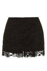 Crochet Wrap Shorts By Rare Black