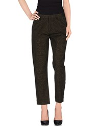 Pt01 Trousers Casual Trousers Women Military Green