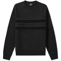 Paul Smith Loopback Tape Crew Sweat Black