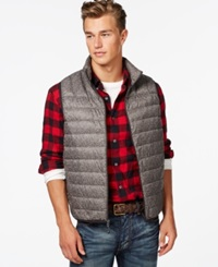 Hawke And Co. Outfitter Hawke And Co. Packable Vest Black Tweed