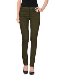 Caractere Casual Pants Deep Jade