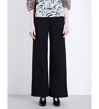 J.W.Anderson Jw Anderson Wide Leg Denim Trousers Black