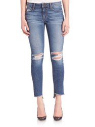 Joe's Jeans Hello Distressed Skinny Ankle Jeans Cappola