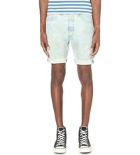 Levi's 501 Slim Fit Tapered Shorts M Oberon