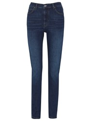 Whistles Mid Wash Skinny Jeans Mid Wash Denim