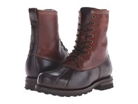 Frye Warren Duckboot Espresso Multi Wp Smooth Pull Up Shearling Lined Men's Boots Brown
