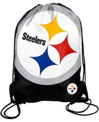 Forever Collectibles Pittsburgh Steelers Big Logo Drawstring Bag Team Color