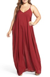 Elan Plus Size Women's Cover Up Maxi Dress