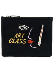 Lizzie Fortunato Jewels 'Art Class' Clutch Black