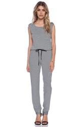 Lamade Aveda Jumpsuit Black And White