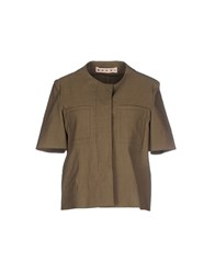 Marni Suits And Jackets Blazers Women Military Green