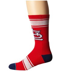 Stance Cards Red Men's Crew Cut Socks Shoes