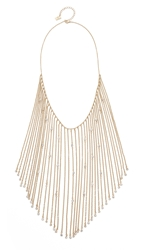 Juliet And Company Sage Necklace Clear Gold